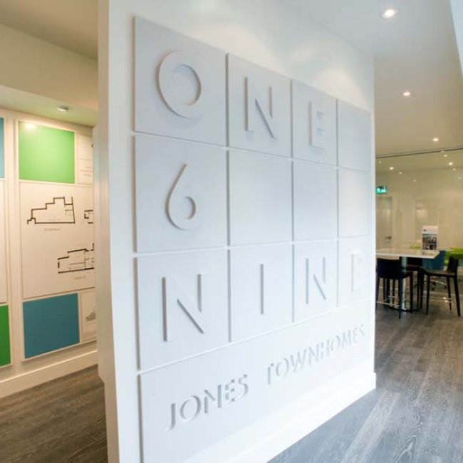 One6Nine Jones Sales Office