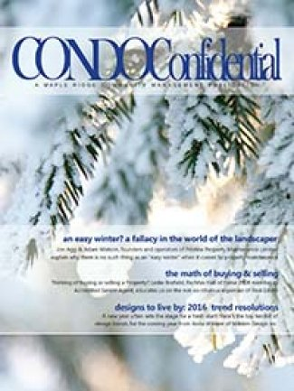 Condo Confidential Winter 2016